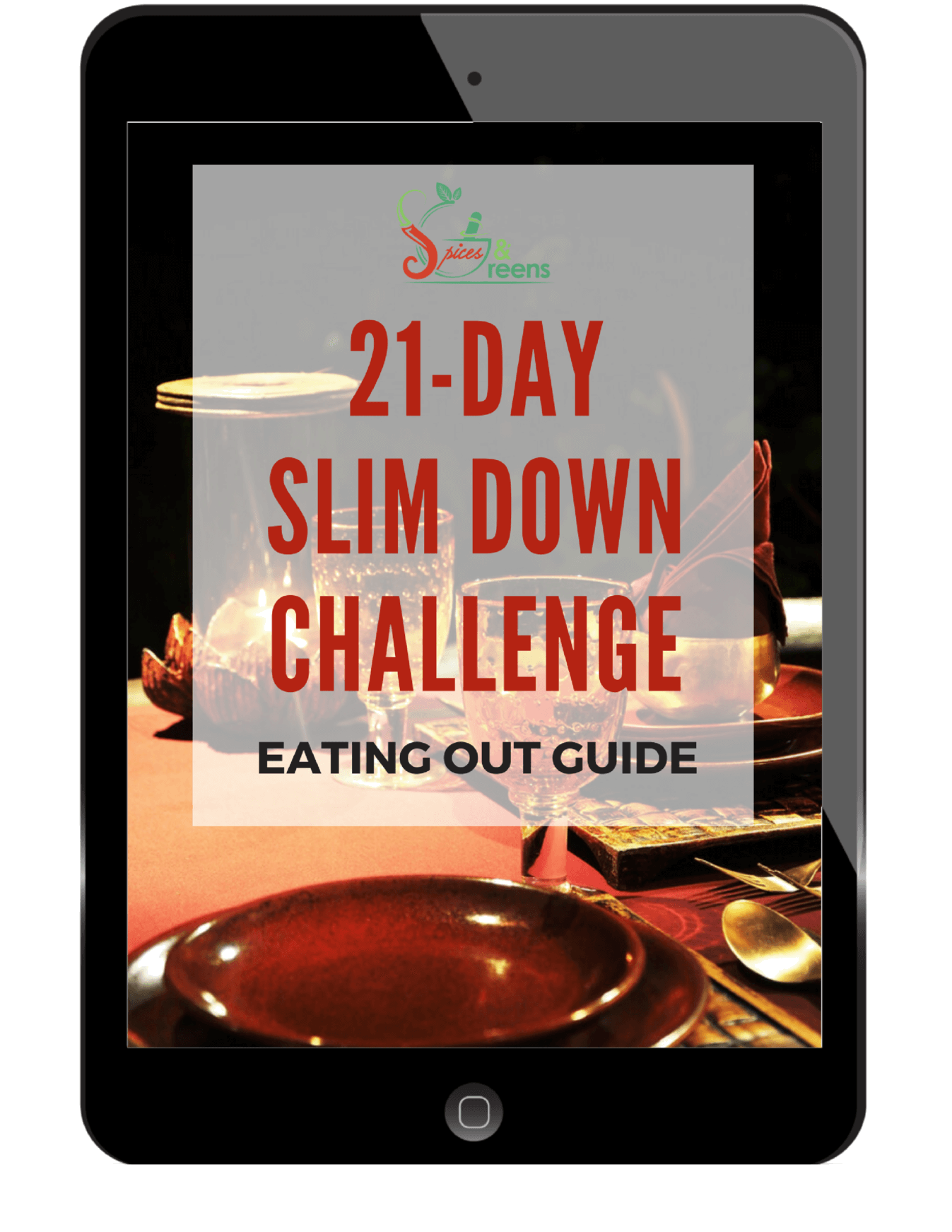 21-Day Slim Down Eating Out Guide